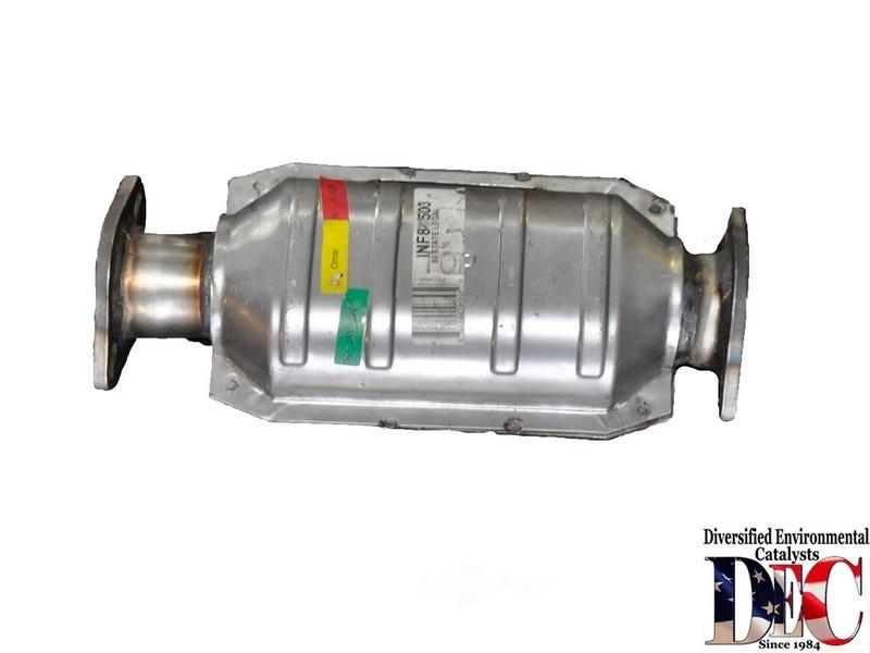 DEC CARB CONVERTER - Catalytic Converter - D56 INF84503