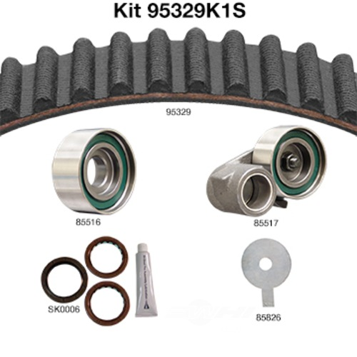 DAYCO PRODUCTS LLC - Engine Timing Belt Kit w/Seals - DAY 95329K1S
