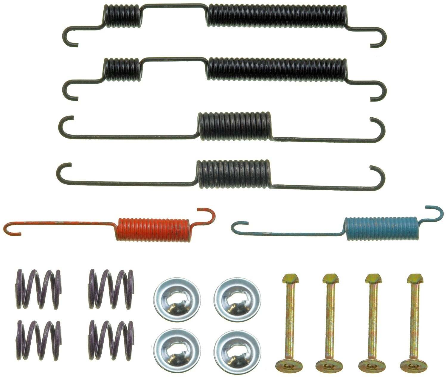 PRONTO/DORMAN - Drum Brake Hardware Kit (Rear) - PNU HW17349