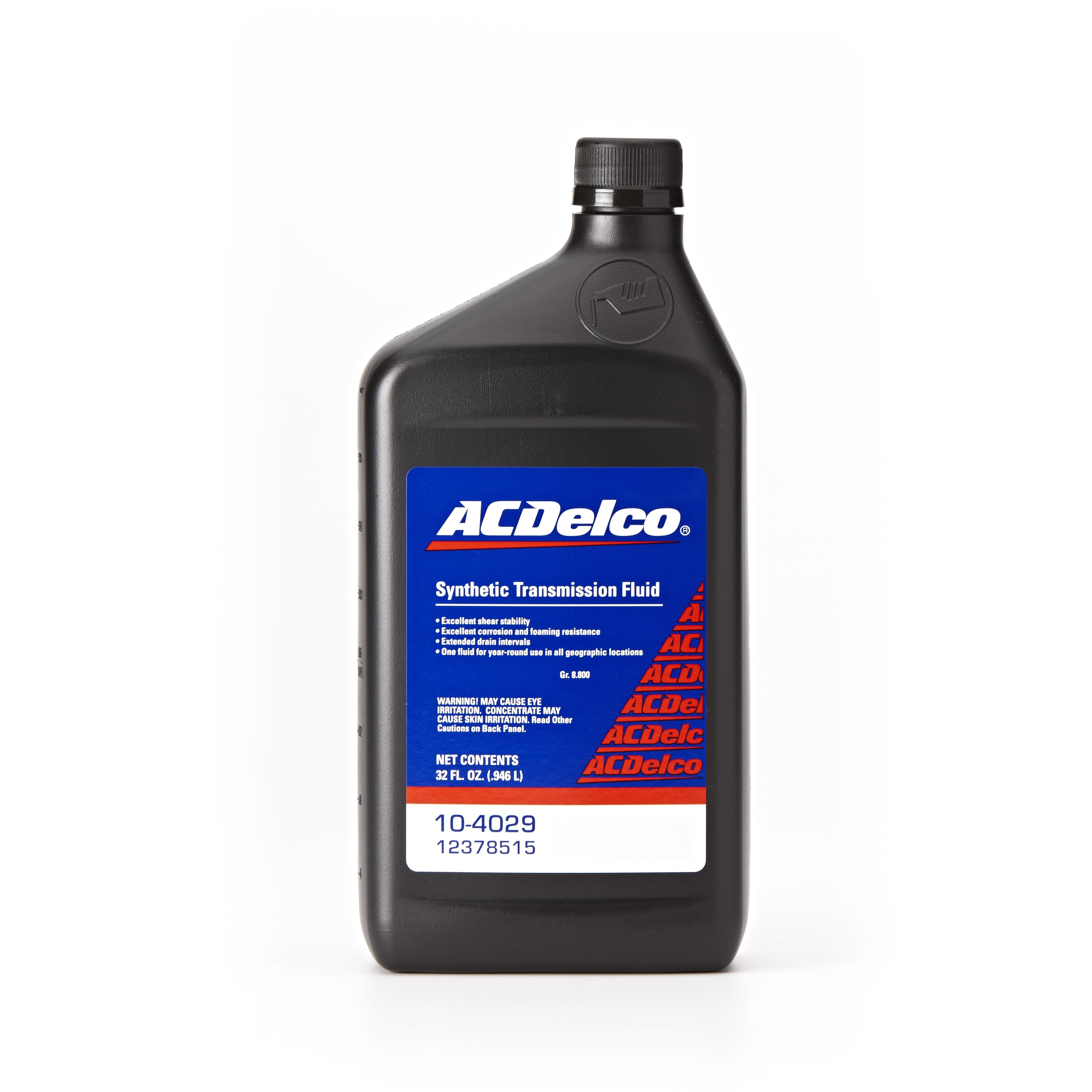 ACDELCO GM ORIGINAL EQUIPMENT - Manual Transmission Fluid - DCB 10-4029