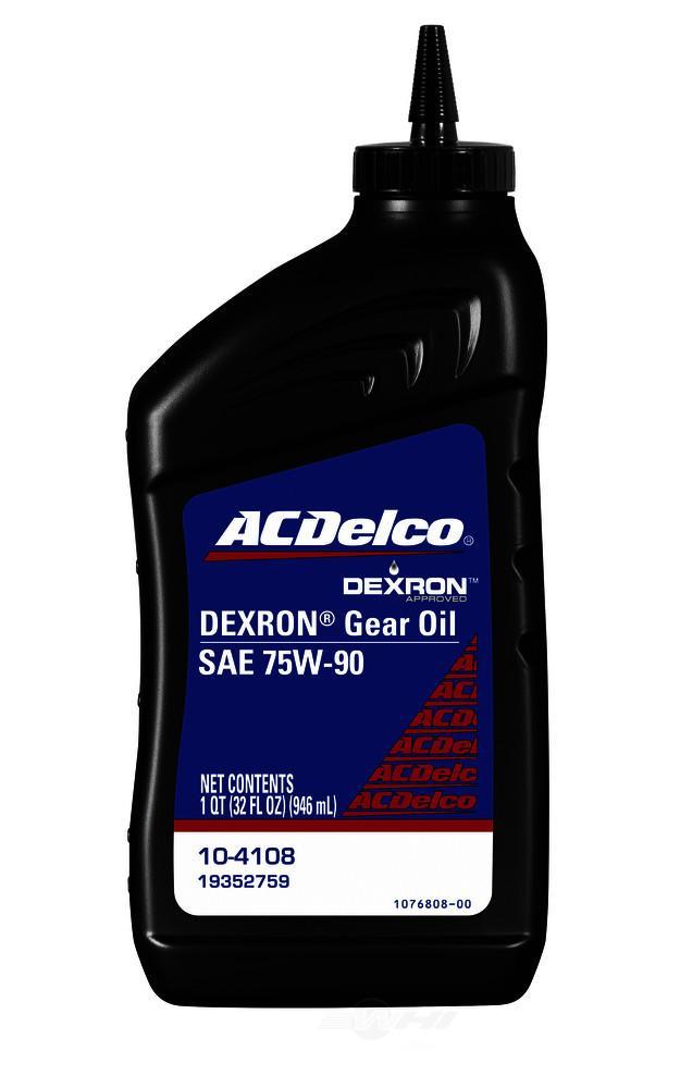 ACDELCO GM ORIGINAL EQUIPMENT - Differential Oil - DCB 10-4108
