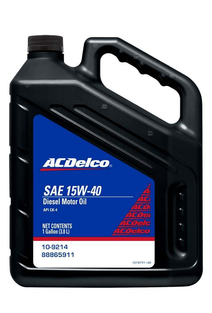 ACDELCO PROFESSIONAL - Engine Oil - 1 Gallon - DCC 10-9214