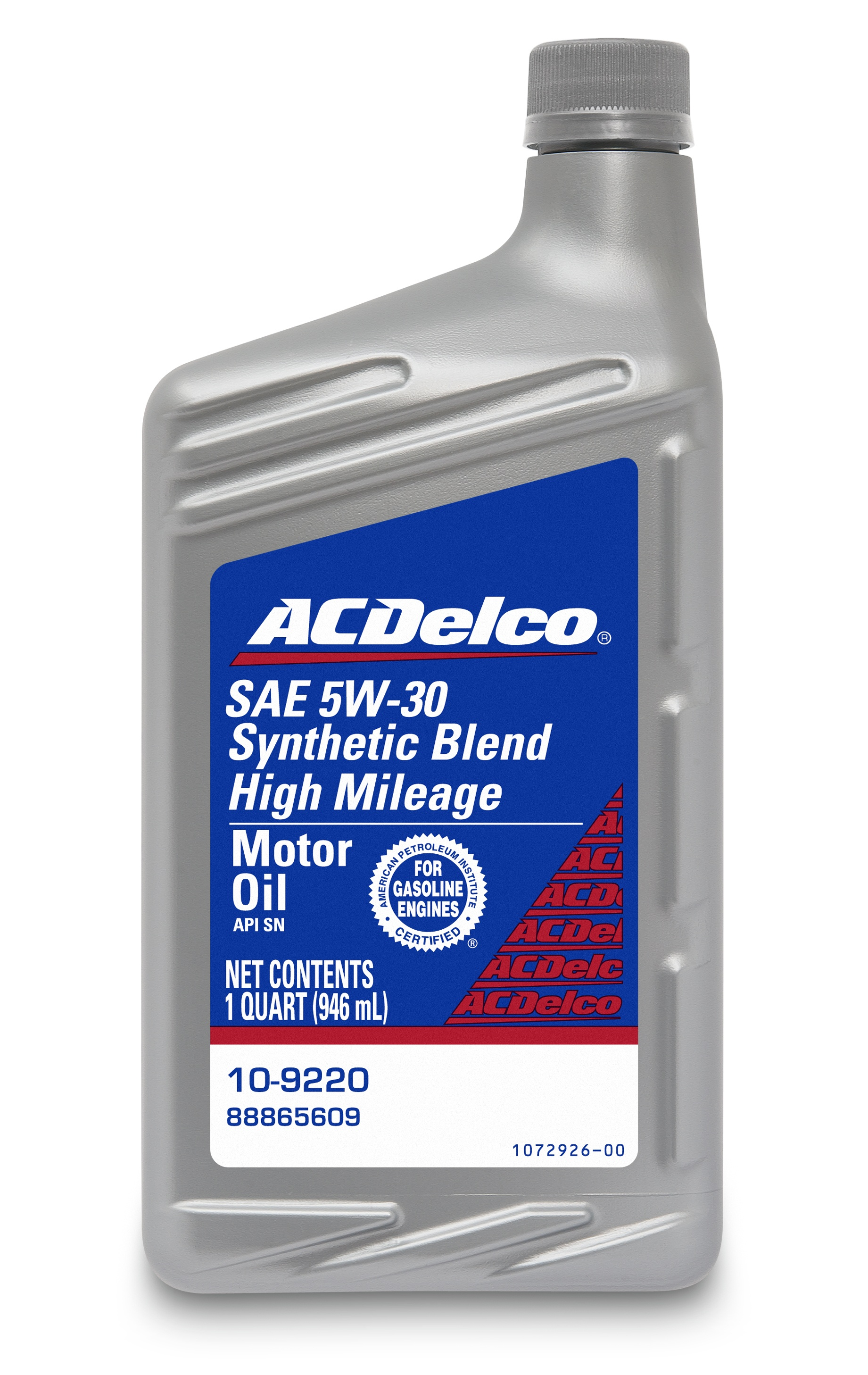 ACDELCO PROFESSIONAL - Engine Oil - 1 Quart - DCC 10-9220