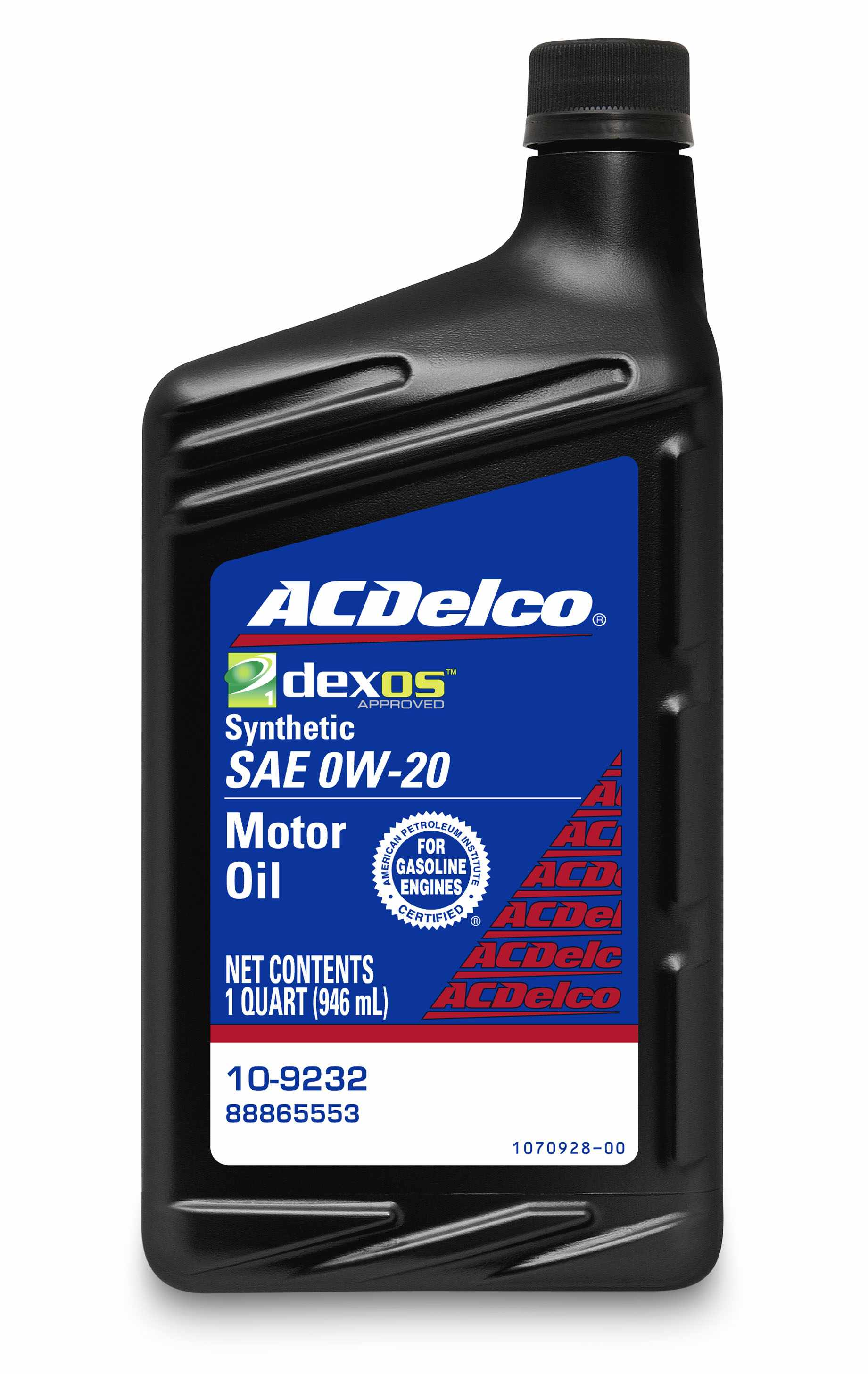 ACDELCO PROFESSIONAL - Engine Oil - 1 Quart - DCC 10-9232
