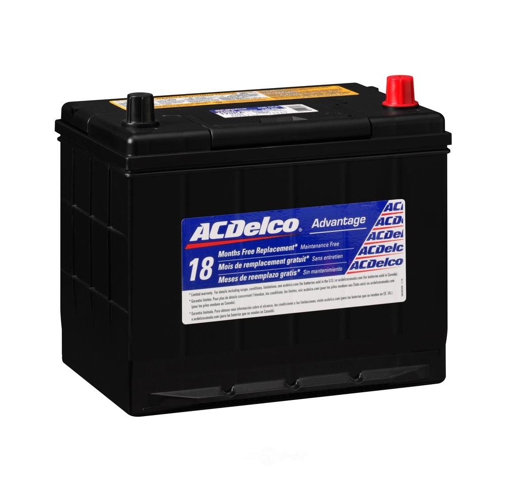 ACDELCO SILVER/ADVANTAGE - Vehicle Battery - DCD 124RA