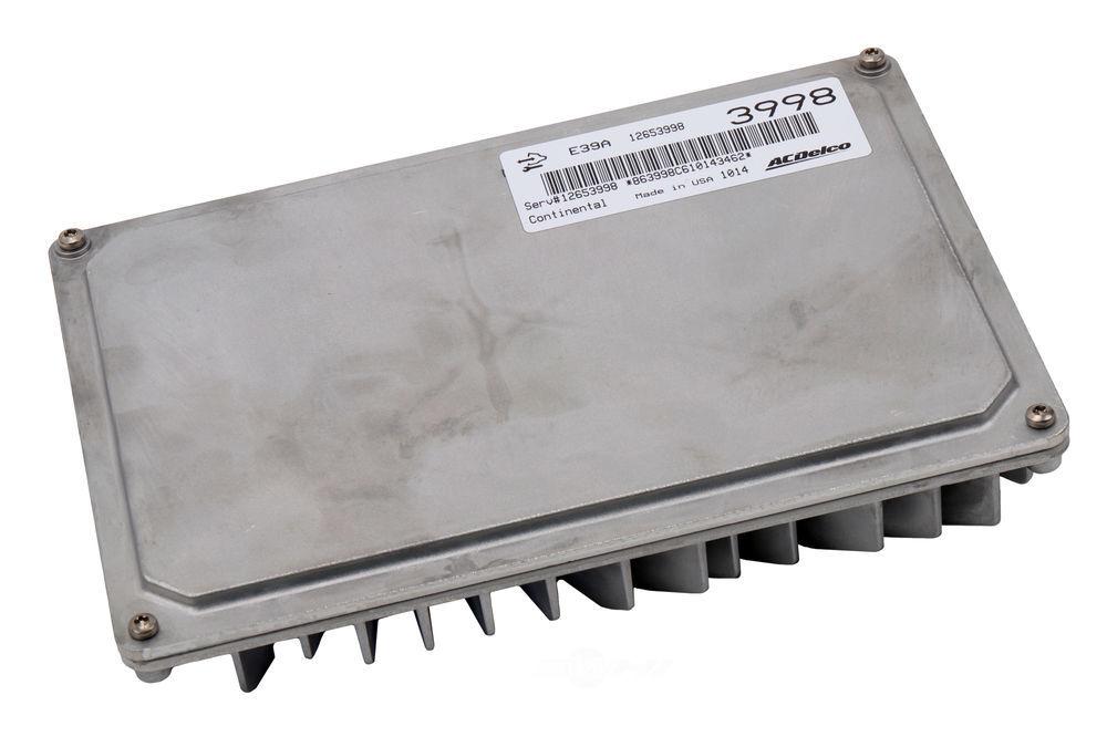 ACDELCO OE SERVICE - Engine Control Module (W/ 2nd Mpu) & (W/O Calibrator) - DCB 12653998