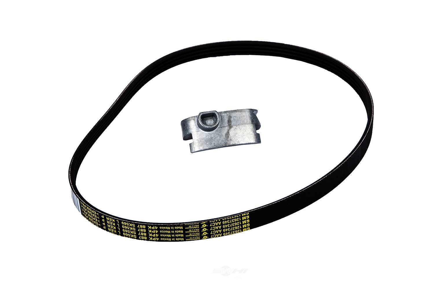 ACDELCO GM ORIGINAL EQUIPMENT - Accessory Drive Belt Kit (Air Conditioning) - DCB 12658178