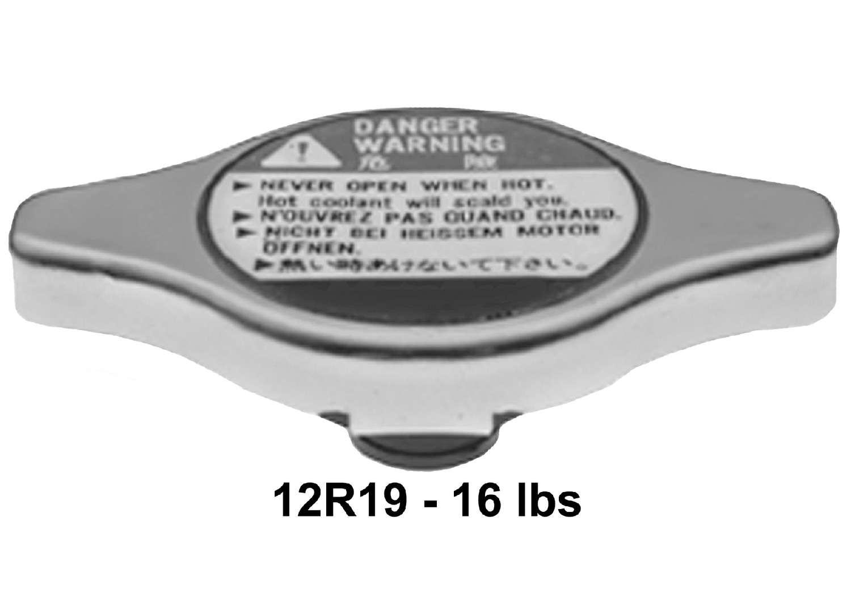 ACDELCO PROFESSIONAL - Radiator Cap - DCC 12R19