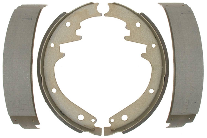 ACDELCO SILVER/ADVANTAGE - Bonded Drum Brake Shoe - DCD 14228B