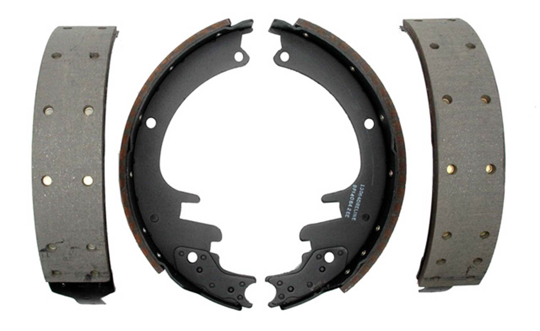 ACDELCO SILVER/ADVANTAGE - Riveted Drum Brake Shoe - DCD 14451R