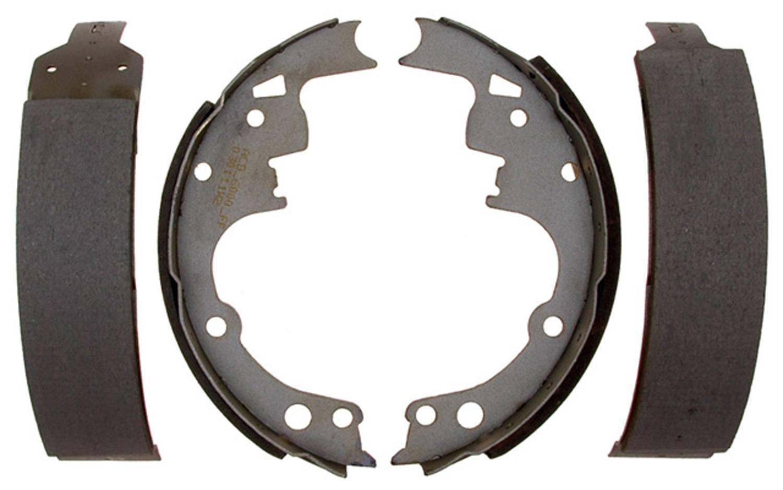 ACDELCO SILVER/ADVANTAGE - Bonded Drum Brake Shoe - DCD 14514B
