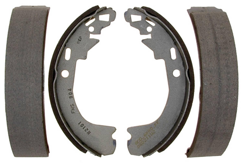 ACDELCO SILVER/ADVANTAGE - Bonded Drum Brake Shoe (Rear) - DCD 14904B