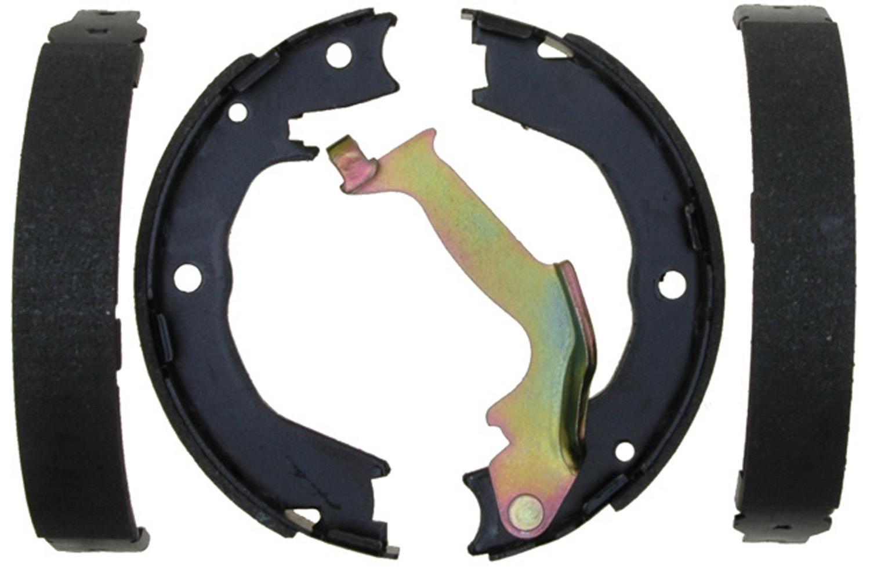 ACDELCO SILVER/ADVANTAGE - Bonded Parking Brake Shoe (Rear) - DCD 14918B