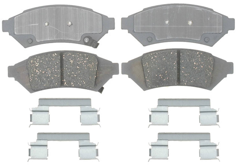 ACDELCO ADVANTAGE CANADA - Ceramic Disc Brake Pad (Front) - DCI 14D1000CH