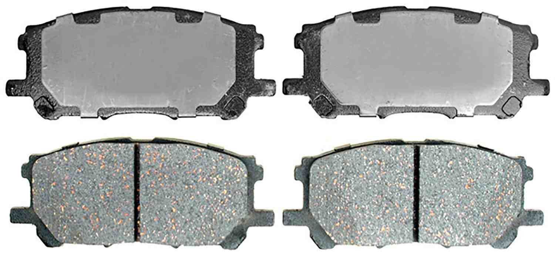 ACDELCO SILVER/ADVANTAGE - Ceramic Disc Brake Pad - DCD 14D1005CH