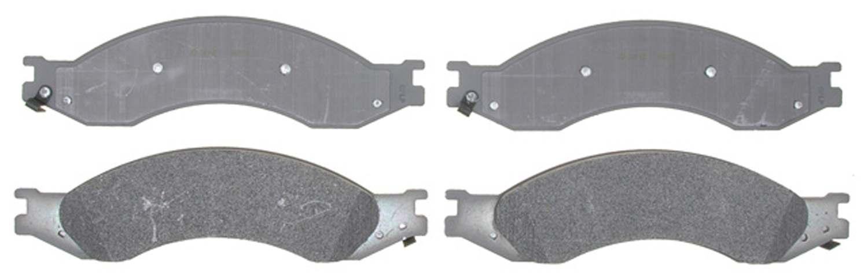 ACDELCO SILVER/ADVANTAGE - Semi-Metallic - DCD 14D1010MX