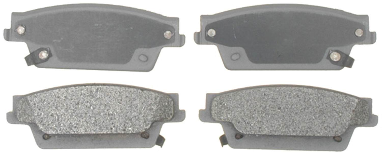 ACDELCO SILVER/ADVANTAGE - Semi-Metallic - DCD 14D1020AM