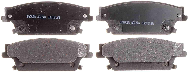 ACDELCO SILVER/ADVANTAGE - Ceramic Disc Brake Pad - DCD 14D1020CH