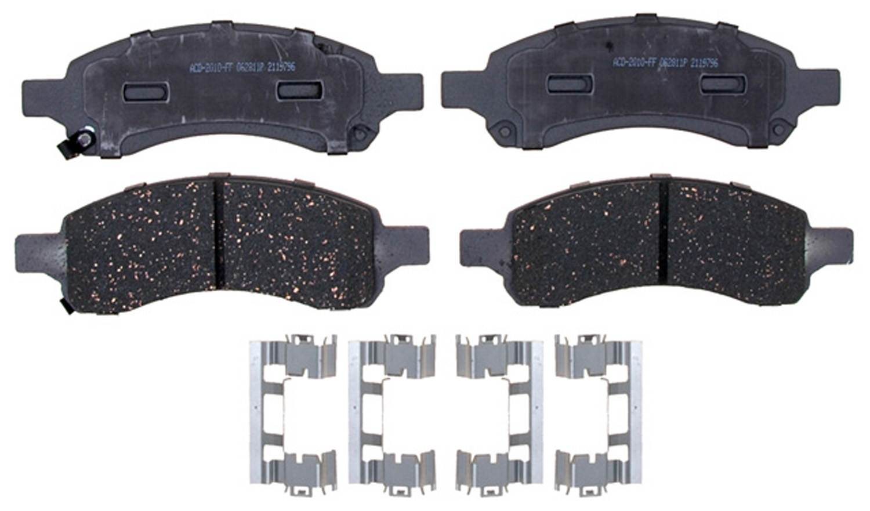 ACDELCO ADVANTAGE CANADA - Ceramic Disc Brake Pad (Front) - DCI 14D1169ACH
