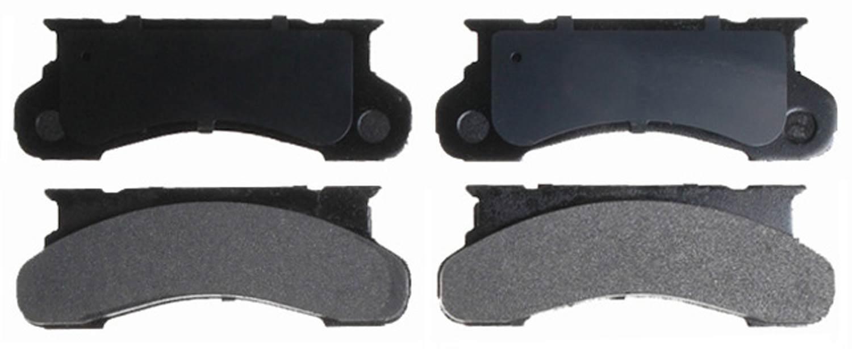 ACDELCO SILVER/ADVANTAGE - Semi-Metallic (Front) - DCD 14D120M