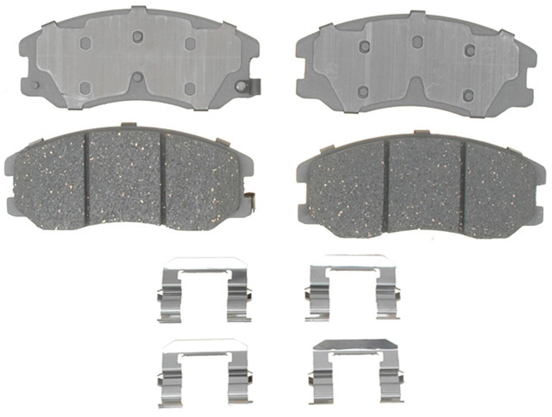 ACDELCO ADVANTAGE CANADA - Ceramic Disc Brake Pad (Front) - DCI 14D1264CH