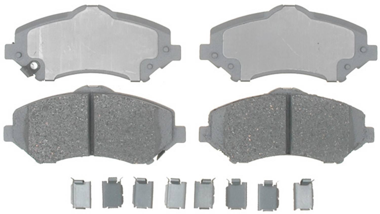 ACDELCO ADVANTAGE - Ceramic Disc Brake Pad - DCD 14D1273CH