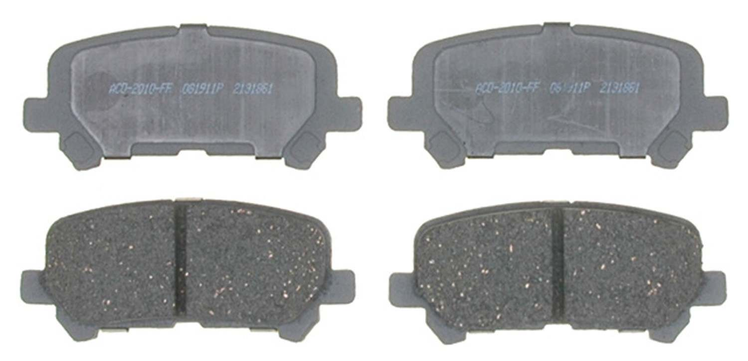 ACDELCO ADVANTAGE - Ceramic Brake Pad - DCD 14D1281C