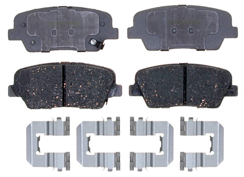 ACDELCO SILVER/ADVANTAGE - Ceramic Disc Brake Pad (Rear) - DCD 14D1284CH