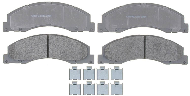 ACDELCO SILVER/ADVANTAGE - Semi-Metallic (Front) - DCD 14D1328MH