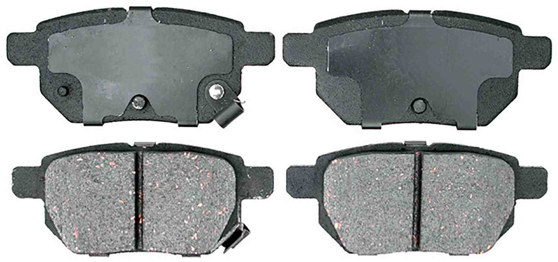 ACDELCO ADVANTAGE CANADA - Ceramic Disc Brake Pad (Rear) - DCI 14D1354CH