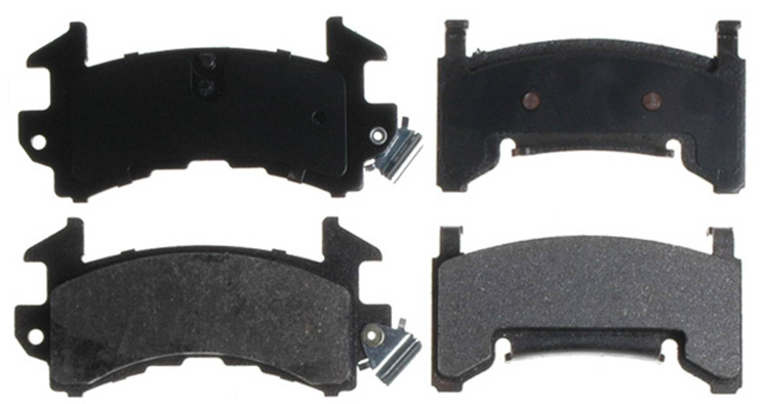 ACDELCO SILVER/ADVANTAGE - Semi Metallic Disc Brake Pad - DCD 14D154M