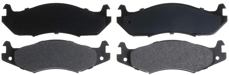 ACDELCO ADVANTAGE - Semi Metallic Disc Brake Pad - DCD 14D203M