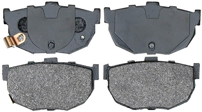 ACDELCO ADVANTAGE - Semi Metallic Disc Brake Pad - DCD 14D323M