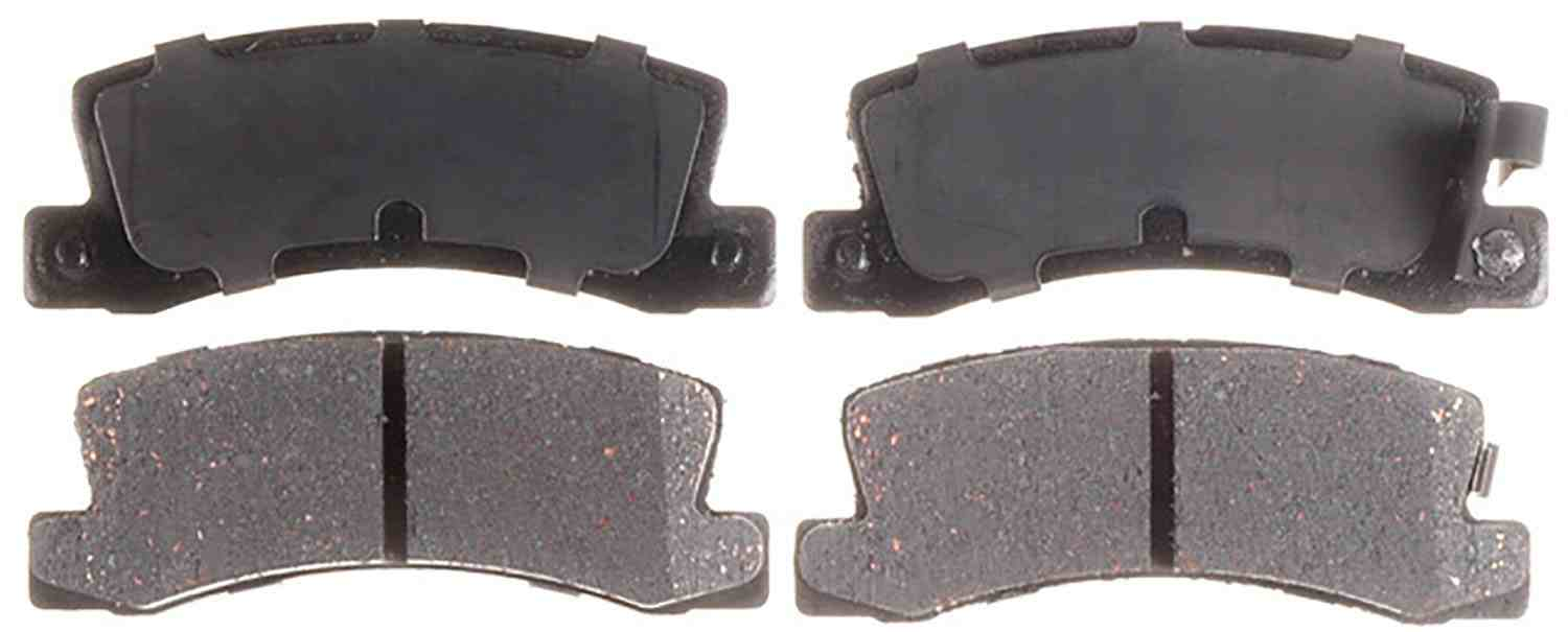 ACDELCO ADVANTAGE - Ceramic Disc Brake Pad (Rear) - DCD 14D325CH