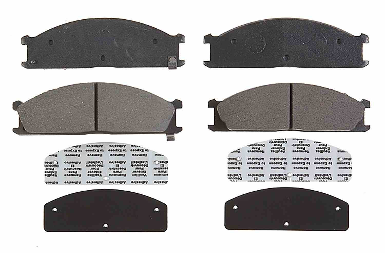 ACDELCO ADVANTAGE CANADA - Ceramic Disc Brake Pad (Front) - DCI 14D333CH