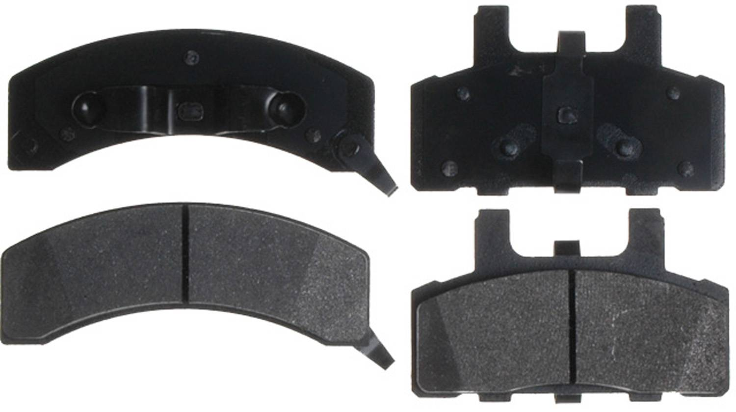 ACDELCO ADVANTAGE - Disc Brake Pad Set (Front) - DCD 14D369MX