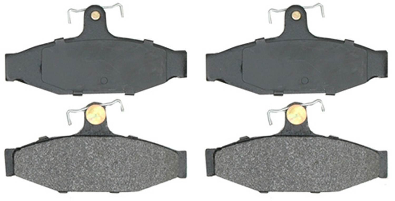 ACDELCO ADVANTAGE - Semi Metallic Disc Brake Pad - DCD 14D413MH