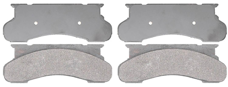 ACDELCO SILVER/ADVANTAGE - Semi-Metallic (Front) - DCD 14D450M