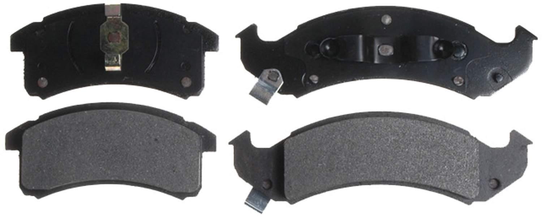 ACDELCO ADVANTAGE - Disc Brake Pad Set (Front) - DCD 14D505MX