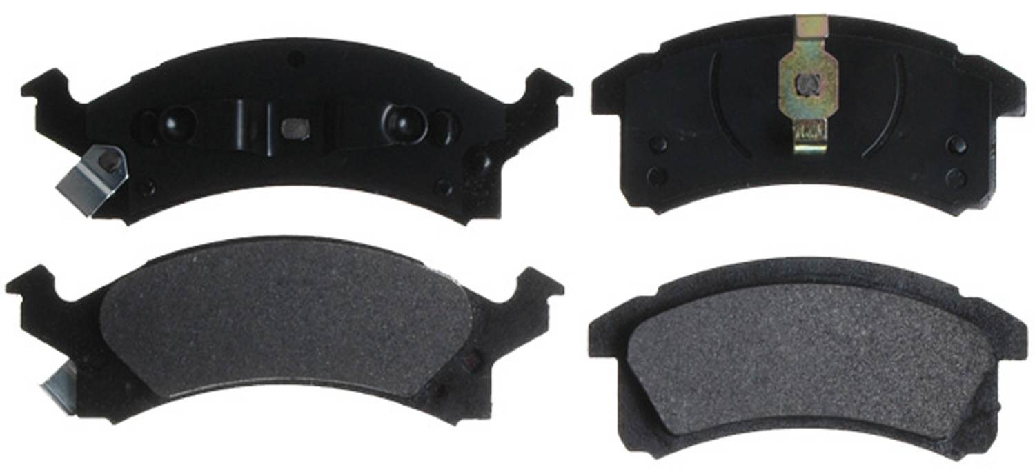 ACDELCO ADVANTAGE - Semi Metallic Disc Brake Pad (Front) - DCD 14D506M