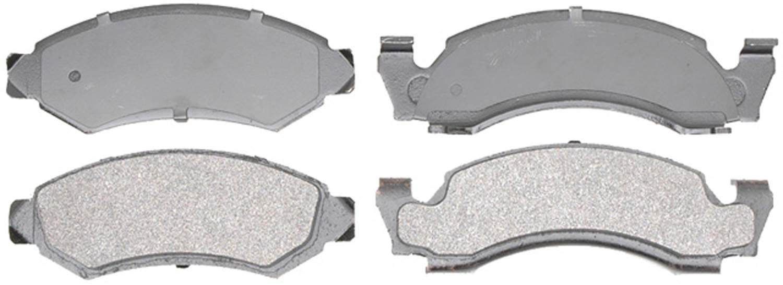 ACDELCO SILVER/ADVANTAGE - Semi-Metallic (Front) - DCD 14D50M