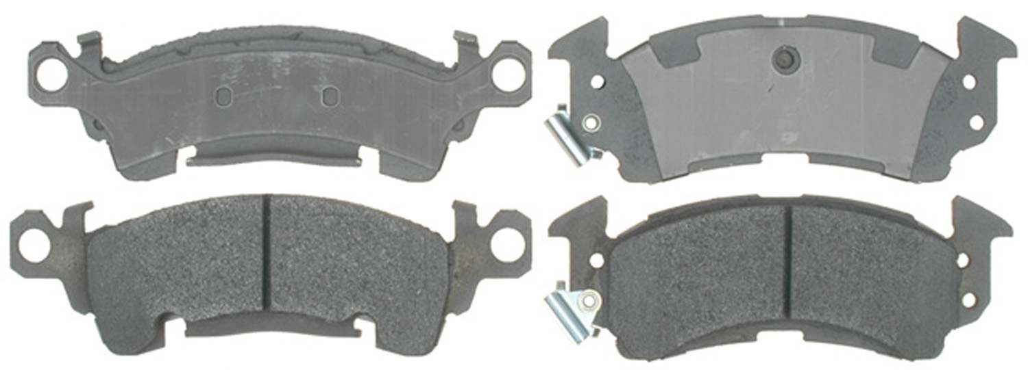 ACDELCO ADVANTAGE - Semi Metallic Disc Brake Pad (Front) - DCD 14D52M