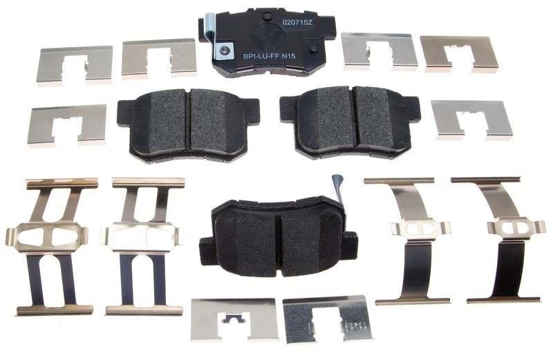 ACDELCO ADVANTAGE CANADA - Ceramic Disc Brake Pad (Rear) - DCI 14D537CH