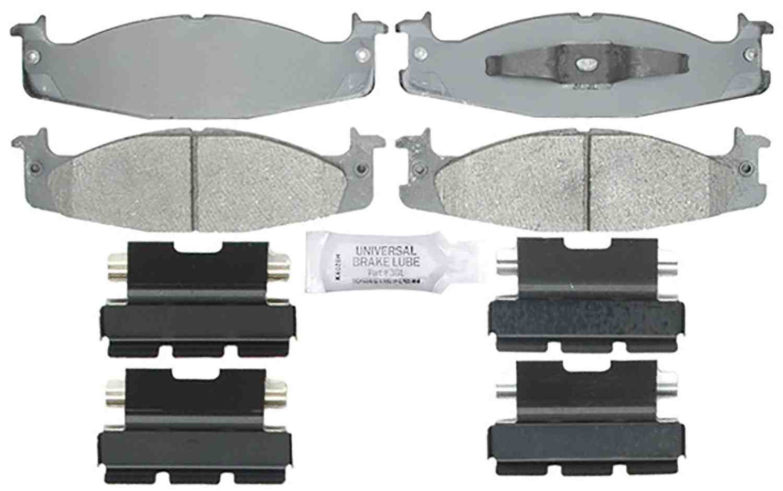 ACDELCO SILVER/ADVANTAGE - Ceramic Disc Brake Pad (Front) - DCD 14D632CH