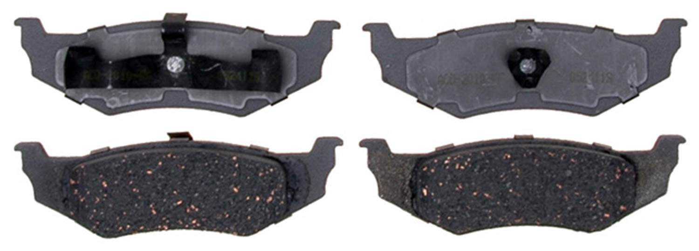 ACDELCO ADVANTAGE - Ceramic Disc Brake Pad (Rear) - DCD 14D641C