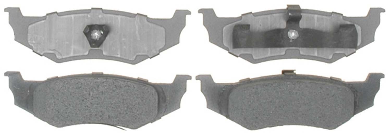 ACDELCO ADVANTAGE - Organic Disc Brake Pad - DCD 14D658