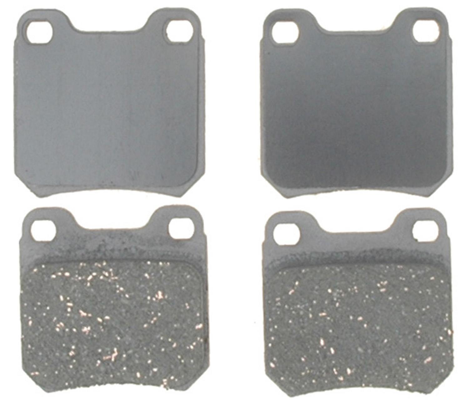 ACDELCO ADVANTAGE - Ceramic Disc Brake Pad (Rear) - DCD 14D709AC
