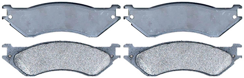 ACDELCO SILVER/ADVANTAGE - Semi-Metallic (Front) - DCD 14D758M
