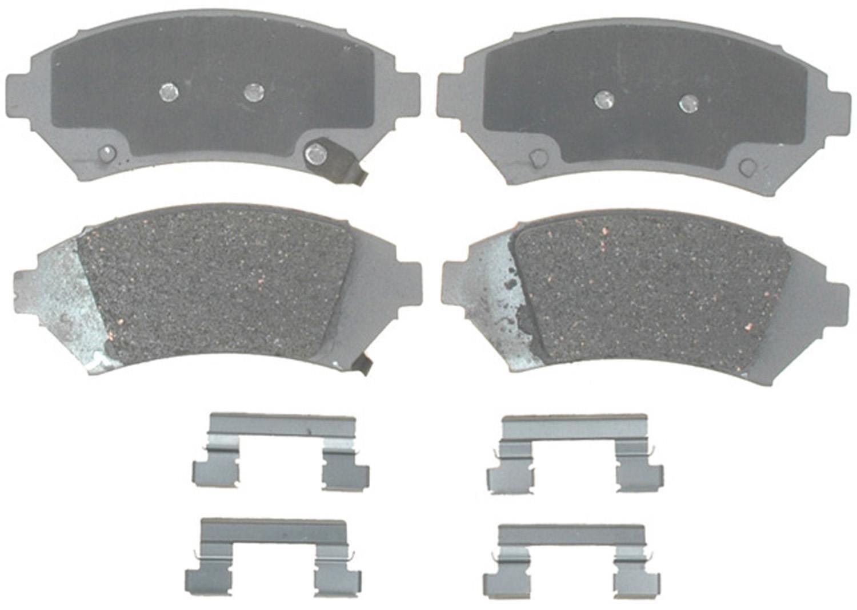 ACDELCO ADVANTAGE - Ceramic Disc Brake Pad - DCD 14D818CH