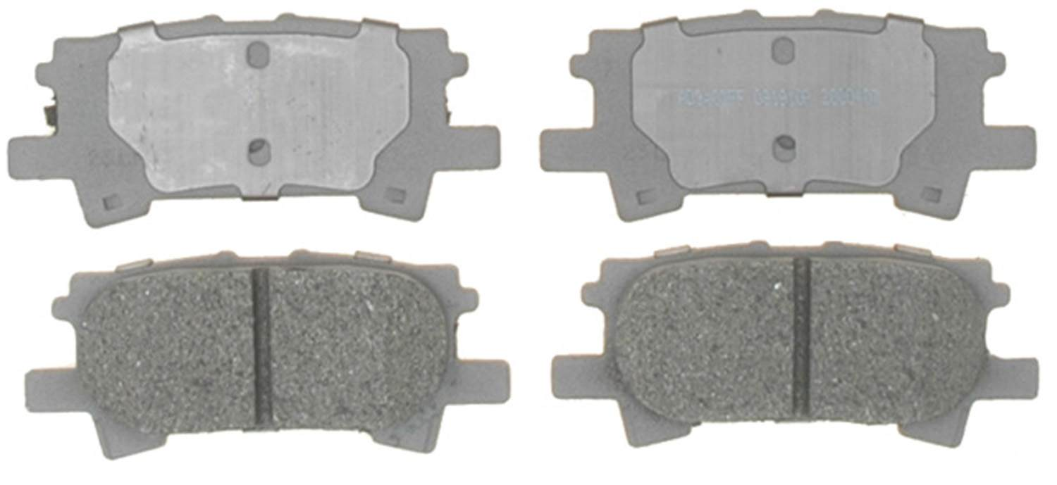 ACDELCO ADVANTAGE - Semi Metallic Disc Brake Pad (Rear) - DCD 14D996M